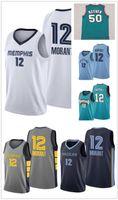 Homens Mulheres crianças jovens 12 Morant Mike Bibby 10 costurado Basketball Jersey Shareef Abdur-Rahim 3 50 Reeves retro verde do basquetebol camiseta