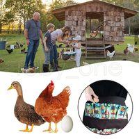 جيوب البيض جمع الحصاد المريلة مزرعة دجاج العمل قبلات كاري بطة أوزة البيض جمع مزرعة المئزر مآزر المطبخ RRA3654