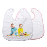 Мода DIY Heat Subbitimation Bule Baby Bib платок для термической передачи Пресс-машина Шарф Saliva Полотенца Burp Скатерет D102905