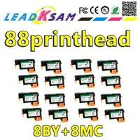 8 مجموعة (16 قطع) الجملة ل 88 رأس الطباعة C9381A C9382A K550 K5400 K8600 L7000 L7480 L7550 L7580 L7590 L7650 L7680 L7710 L77501