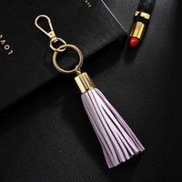 جديد مفتاح سلسلة مع بو الجلود شرابة للنساء llaveros موهير حقيبة البق سيارة حامل كيرينغ كيرينغ حامل مجوهرات NEH340 H JLLXIZ