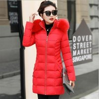 2020 New Women Fashion Long parkas winter Down Cotton Jacket...
