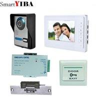 Téléphones de porte vidéo Smartyiba 7 pouces Color Screen Téléphone Bell pour Villa Apartment1