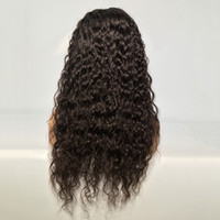 Lace Frontal Wig Human Hair Wigs Brazilian Water Wave Wig Fo...