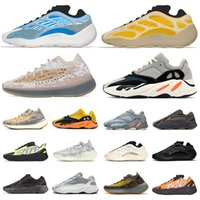 2020 New Kanye West Sapatos Stock x  Yeezy Boost 700 v3 Running Shoes Azael Alvah Alien Mist yezzy wave runner 700 v2 MNVN Carbon Blue Vanta Luxury Designer Sneakers Trainers