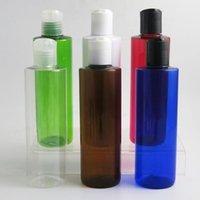 20 x botellas vacías 250ML de plástico con el disco superior del tirón Cap 8OZ contenedores para Shampoo Lociones Liquid Packaging