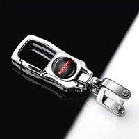 Per supporto per auto Great Wall Haval H6 C50 F7 H9 M6 H5 F7X F5 H4 H2 H7 H6 Coupe metallo 3D dell'automobile di Keychain dell'anello chiave tasto logo Accessori