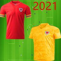 2020 2021 Galler futbol forması BALYA ALLEN James Ben Davies Wilson camisetas ev Maillot formaları formalarını uzakta kırmızı