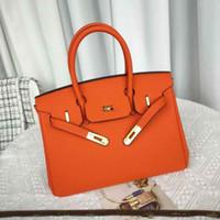 V2pi 30 cm Borse Versione di alta qualità Versione Fashional Bag Berkin 25cm Designer Clutch in pelle 2021 Designer Womens Forns Hot Borse Hot Bussurys H JASN