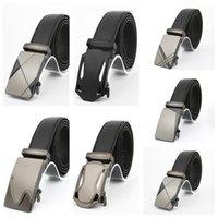 Мужчины металла автоматические пряжки ремня моды бизнес случайные брюки ремни оптового Дизайнерские ремни Универсальный Waistband джинсы ремень CZ101301