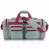 Gonex 45L Men Travel Duffel Gym Sports Luggage Bag Water- res...