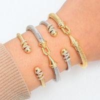 GODKI tendance luxe superposable Bangle Cuff pour les femmes de mariage pleine cubique Zircon cristal CZ Dubaï Bracelet Parti Jewelry2020