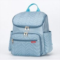 Nappy Shipping Bags Travel Baby Diaper Changing Multi Mummy School Maternity Pad Backpack With Bag Function Drop Kqgeu