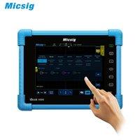 مثبتات الذبذبات micsig ATO1104 السيارات اللوحي الذبذبات Touchscreen 100MHz 4ch 1GSA 28MPT