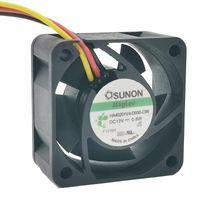 Para Sunon Maglev Ventilador HA40201V4-D000-C99 DC12V 0.6W 4020 40 40 * 40 * 20mm F Fuente de alimentación del inversor del servidor F Fans de enfriamiento axial 3PIN1