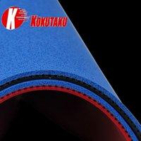كوكوتاكو تنس الطاولة المطاط الأزرق كعكة الإسفنج البثور في بينغ بونغ المطاط ITTF لمدة 40+ الكرة لبينغ بونج مضرب مضرب مضرب 201225