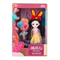 طفل باربي دمى لعبة دعوى الأطفال تلعب منزل لعبة هدية واحدة فتاة الملابس الأميرة فتاة هدية عيد