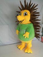 Mascotte della mascotte dell'Hedgehog per il personaggio dei cartoni animati del partito Costumi della mascotte dell orso polare in vendita Personalizzazione del supporto di trasporto libero