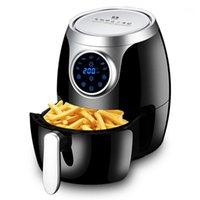 220V Air Fryer Comercial Capacidad de alta capacidad sin aceite Multifunción de bajo contenido de grasas Nonstick PAN Hogar Freidora eléctrica para cocina