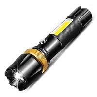 6000LM LED فائقة مشرق الشعلة T6 / L2 البوليفيين التخييم ضوء 5 طرق التبديل linterna زوومبلي دراجة ضوء استخدام 186501