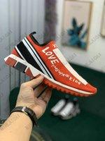 Herren Iconic Sorrento Schuhe Slip-On Turnschuhe mit Fleck Espadrilles Stretch Knit Socken Trainer Zweifarbige Gummi Micro Sole Womens Liebe Familie Casual Schuh