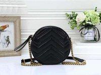 Çanta Siyah Crossbody Çanta Zincir Moda Kadınlar Klasik Çanta Satmak Zincir Tasarımcı Çanta Marmont 2020 Yuvarlak Sıcak Djujb Stnmo