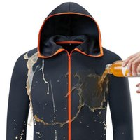 Outwear Jacket Men Hydrophobic Anti-Fouling Waterproof Quick-Drying Breathable Sunscreen Outdoors Hooded Jackets Thin Clothes
