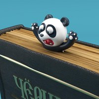 Neueste Panda Shiba Inu Lustige Kreative PVC Buchmarkierungen 3D Lesezeichen Cartoon Tier Bookmark Eal Octopus Schulbedarf