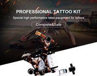 Anfänger Tattoo Kit One Tattoo Machine Gun Set Unsterbliche Tinten Stromversorgung Nadeln Liefert Set Professional Kit