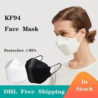 In Stock CE Certificate Protective Face Masks 10pcs lot 4- la...