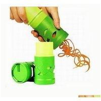 Cutter vegetal Fruta Slicer Spiralizer Fácil Guarnição Vegetaria Twister processamento Dispositivo Cozinha Gadgets Cozinhar Ferramentas HS1RP MBWOO