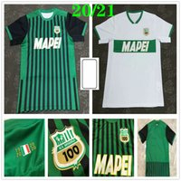 2020 2021 Sassuolo Soccer Jerseys 9 Caputo 25 Berardi Locatelli Marlon Custom Custom Home Away Black Sassuolo Calcio Srl Shirt de football