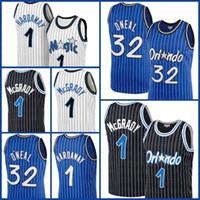 "Orlando ""Magic"" Jersey Shaquille 32 O'Neal Jersey Basketball Penny 1 Hardaway Tracy 1 McGrady Jonathan 1 Isaac Mohamed 5 Bamba"