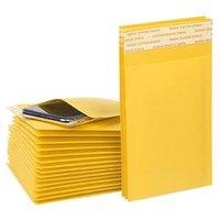 11 * 13 cm Kraft Kabarcık Zarflar Kağıt Ambalaj Çanta Yastıklı Mailers Paket Kabarcıklar Zarf Kurye Saklama Torbaları