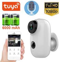 1080P Tuya alimenté par batterie 6000mAh caméra intelligente IP65 étanche sans fil WiFi extérieure de sécurité IP Smart Camera vie APP