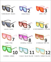 New square womens oversized rhinestone luxury sunglasses wom...