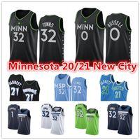Karl-Anthony 32 Kasaba Kevin 21 Garnett MinnesotaTimberwolvesŞehir D'Angelo 0 Russell Anthony 1 Edwards Siyah Basketbol Formaları