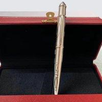 2020 الفاخرة القلم الكلاسيكية معدنية قلم رصاصات محدودة طبعة قلم حبر جاف القلم المعدنية القلم مع مربع أحمر ودليل رائع