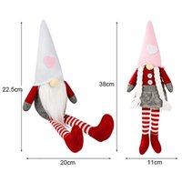 Aşk Şapkalar Gnome Sevgililer Günü Cüceler Uzun Bacaklar Yüzsüz Bebek Sevgililer Günü Hediyeler Parti Süslemeleri Erkek ve Kız FFD4270
