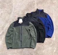 2020 새로운 남성 데날리 양털 재킷 패션 야외 M / 착실히 보내다 방풍 편지 자수 재킷 7196 2XL #
