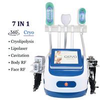2021 최신 Cryo Fat Froze 기계 7 Cryolipolysis Criolipolisis 배꼽 지방 감소 엉덩이 리프팅 360 냉동 진공 슬리밍