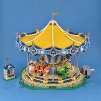 15036 2705 pcs 10257 Criador Divertimento Park Instalações de Entretenimento Construção Blocos Bricks Brinquedos Presente de Natal 10257