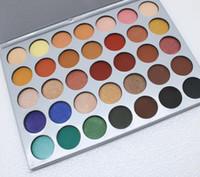35 Renkler Preslenmiş Toz Göz Farı Paleti Mat Pırıltılı Makyaj Göz Farı Paletleri Kozmetik Paleti Göz Farı Kadınlar için Makyaj