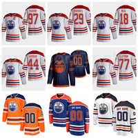 2021 Edmonton Oilers Ters Retro 97 Connor McDavid Jersey Buz Hokeyi 29 Leon Draisaitl 18 James Neal 77 Oscar Klefbom 44 Zack Kassian