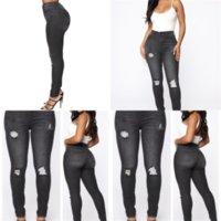 PNU Mujeres Luz Lápiz Lápiz High Jeans American Bandera Imprimir Jeans Lady Ropa Azul Skinny Cintura Mujeres Elástico Cintura Largos Pantalones Sumer