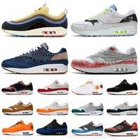 Toptan Yıldönümü Kraliyet Erkekler Kadınlar Rahat Ayakkabılar 1 Bir Üniversite Mavi Yama Parra Bred Fil Atomik Teal Erkek Trainer Sneakers K2R5