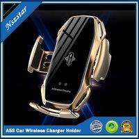 A5S 자동차 무선 충전기 홀더 자동 센서 자동차 전화 홀더 무선 충전기 전화 자동차 홀더 모바일 스탠드 마운트