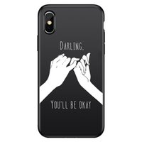 أسود فون 12 حالة الهاتف لفون 12 11 ميني برو ماكس الغريبة رائد فضاء الحب الأبجدية الإنجليزية شل الخلية حالات Moblie الهاتف الغلاف