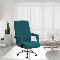 Tuch Sitzbezüge Set Solid Color Office Computers Elastische Stuhl Armlehnen Fall Home Anti Dirty Clean Cover Neue Ankunft Heißer Verkauf 22SP G2