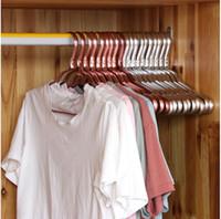 Coat 1,2 centimetri in lega Gancio antiscivolo Traceless casa Clothe Rack multi colore durevole Ampio supporto metallico Gloss 2 2SF G2